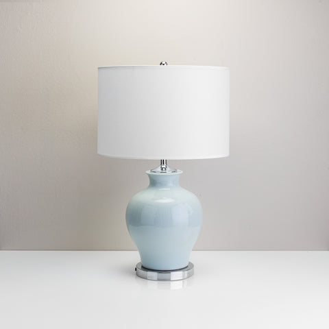Powder Blue Table Lamp