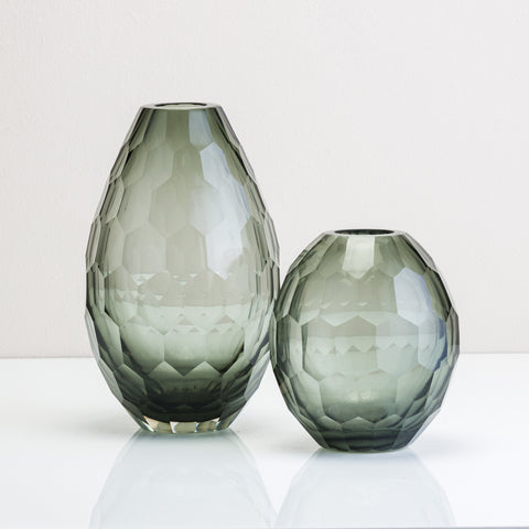 Honeycomb Glass Vase