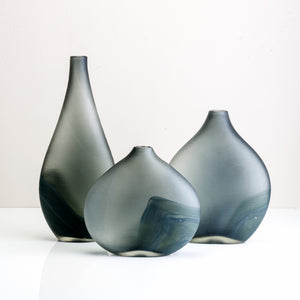 Narrow Top Glass Vase