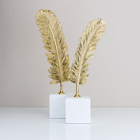 Brass Feathers