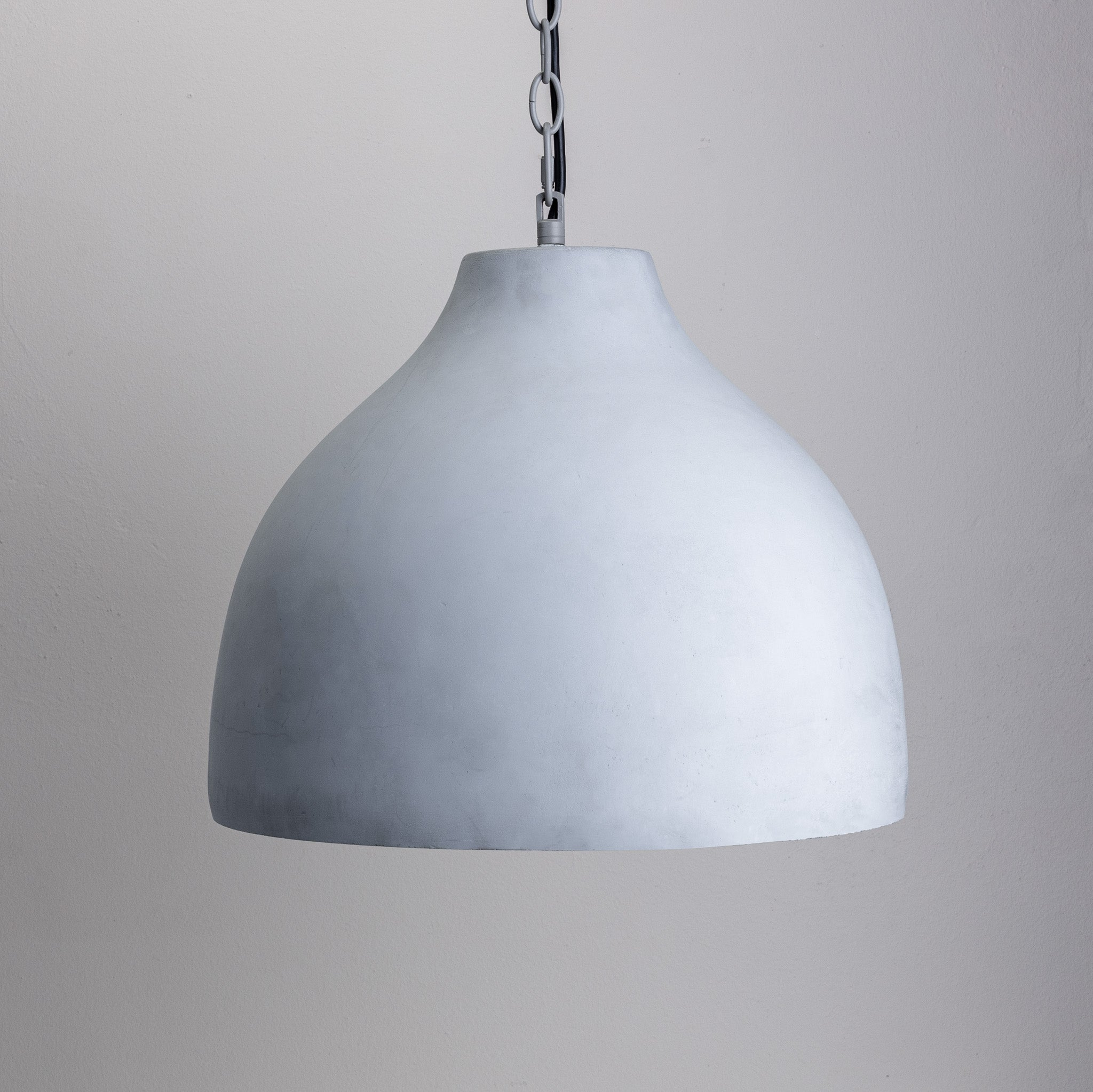 Concrete Pendant Yellow