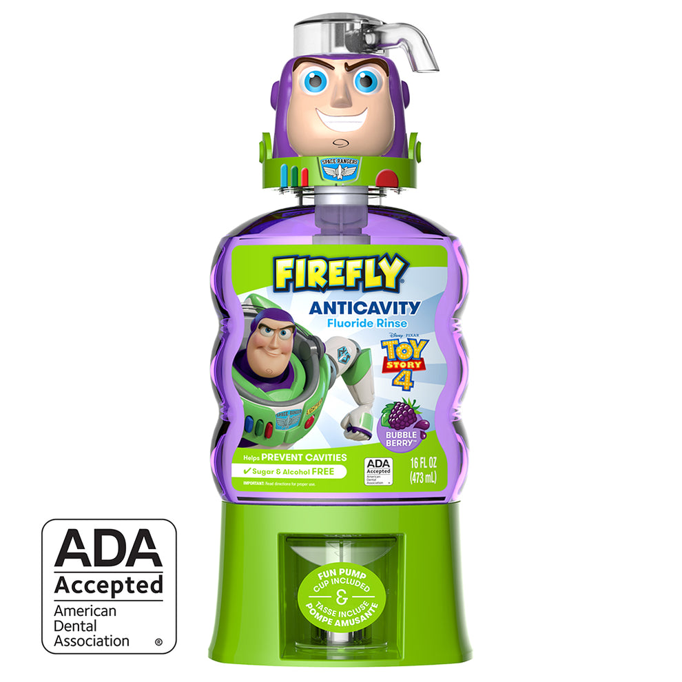 Firefly Toy Story Buzz Lightyear Anticavity Fluoride Rinse (16 Oz)
