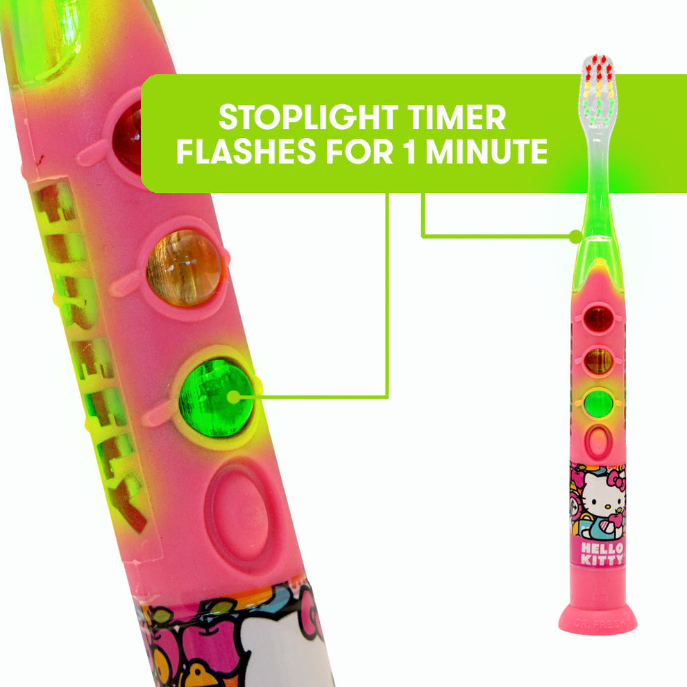 Firefly Ready Go Lightup Hello Kitty Toothbrush