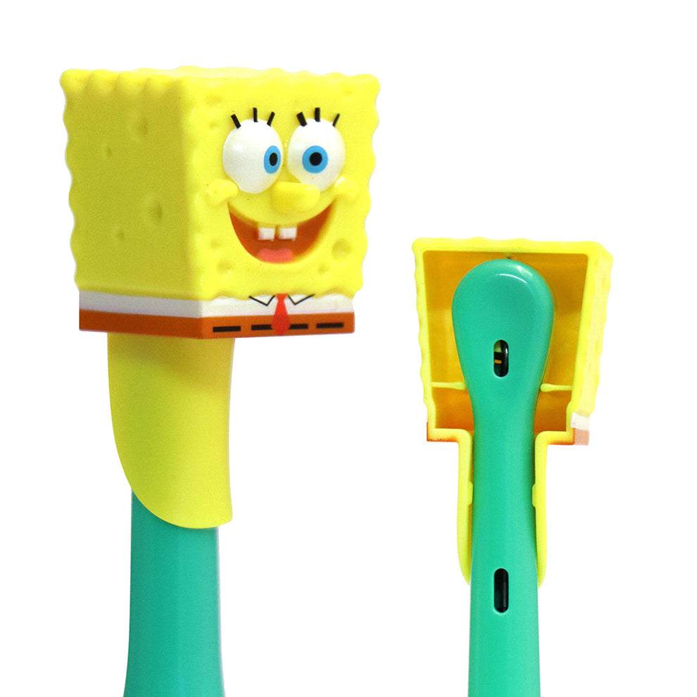 Firefly Clean N' Protect™ SpongeBob SquarePants Power Toothbrush With Antibacterial Cover