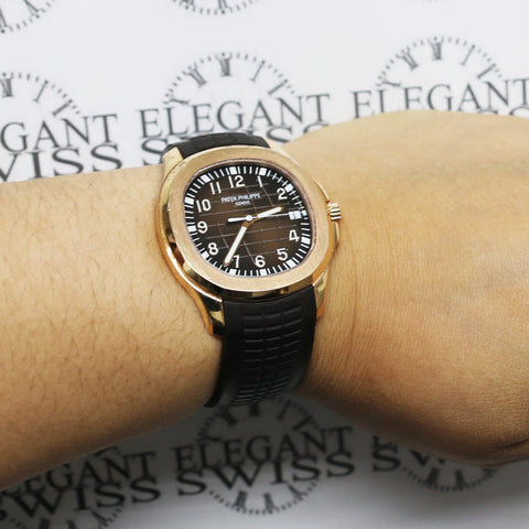 2016 Patek Philippe Aquanaut 40mm 5167R-001 18k Rose Gold Automatic 5167R - Box & Papers!