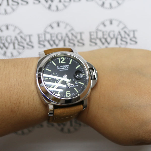 Panerai Luminor Power Reserve 44MM Automatic Stainless Steel Mens Watch PAM00090 Box Papers