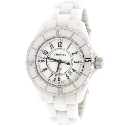 Chanel J12 33mm Automatic White Ceramic Women's Watch