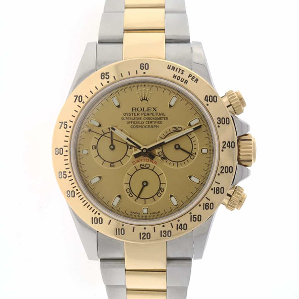 Rolex Cosmograph Daytona 2-Tone 18K Gold/SS 40mm Watch 116523