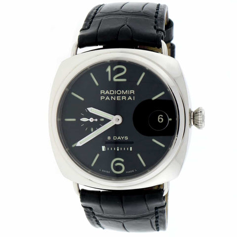 Panerai Radiomir Power Reserve 8 Days Automatic Stainless Steel Mens Watch PAM268