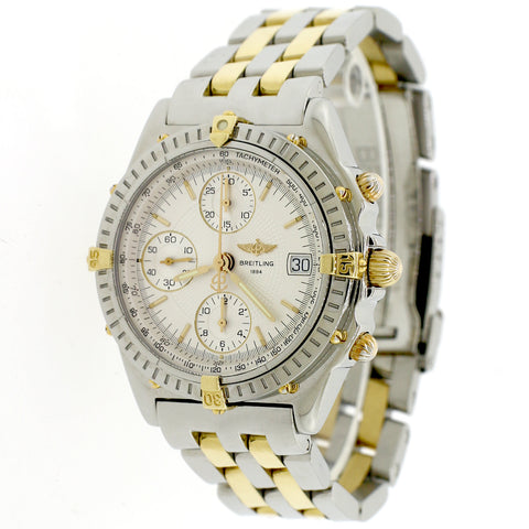 Breitling Chronomat Vitesse 40.5MM 2-Tone Yellow Gold/Stainless Steel Watch B13050.1