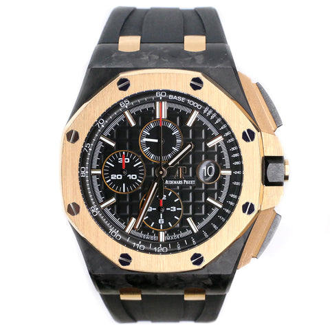 Audemars Piguet Royal Oak Offshore Chronograph QE II CUP 2016 Limited Edition 44MM Watch with Box Papers