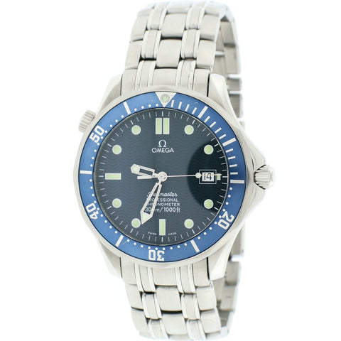 Omega Seamaster '007' Professional 41MM Blue Dial Stainless Steel Automatic Mens Watch 212.30.41.20.03.001