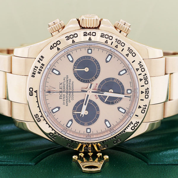 Rolex Cosmograph Daytona Everose Factory Pink Dial 40mm Automatic Watch 116505