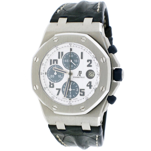 Audemars Piguet Royal Oak Offshore 42MM White Dial Chronograph Automatic Stainless Steel Mens Watch 26170ST.OO.D305CR.01