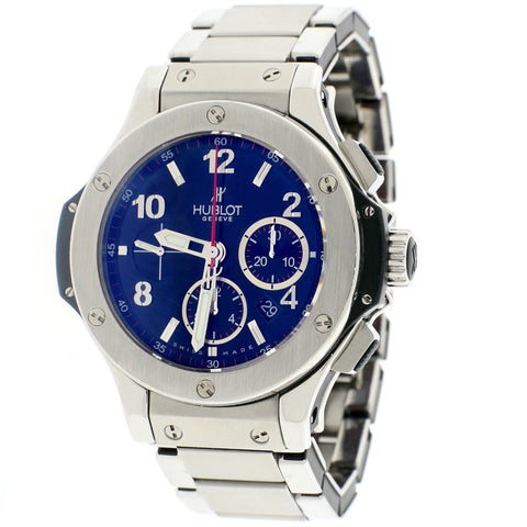 Hublot Big Bang Evolution Chronograph Stainless Steel Black Dial Automatic Mens Watch 301.SX.130.RX