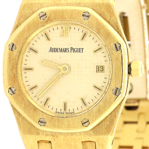 Audemars Piguet Royal Oak 25mm 18K Yellow Gold Watch