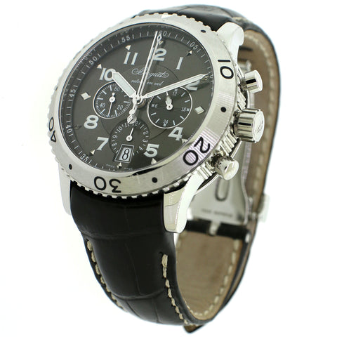 Breguet Transatlantique Type XXI Flyback Chronograph 43MM Watch 3810 Box&Papers
