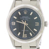 Rolex Air-King Factory Blue Index Dial 34MM Automatic Stainless Steel Oyster Watch 14000