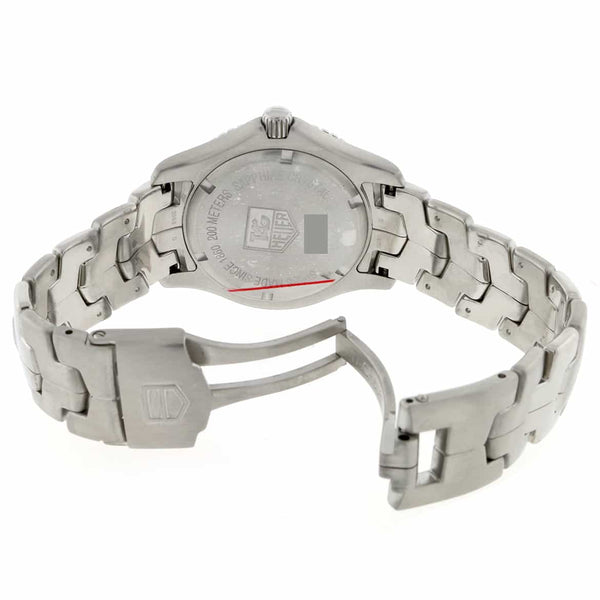 Tag Heuer Link Original Diamond Dial 39MM Stainless Steel Mens Watch WJ1113.BA0575