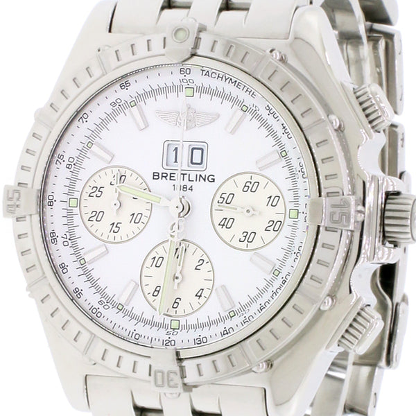 Breitling Windrider Crosswind Special 44MM Big Date Chronograph Automatic Watch A44355
