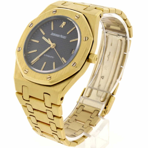 Audemars Piguet Royal Oak 18K Yellow Gold Original Grey Dial 35mm Automatic Watch
