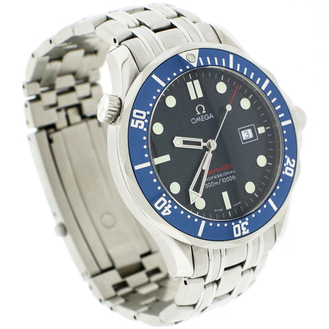 Omega Seamaster '007' Professional 41MM Blue Dial Stainless Steel Mens Watch 2541.80.00