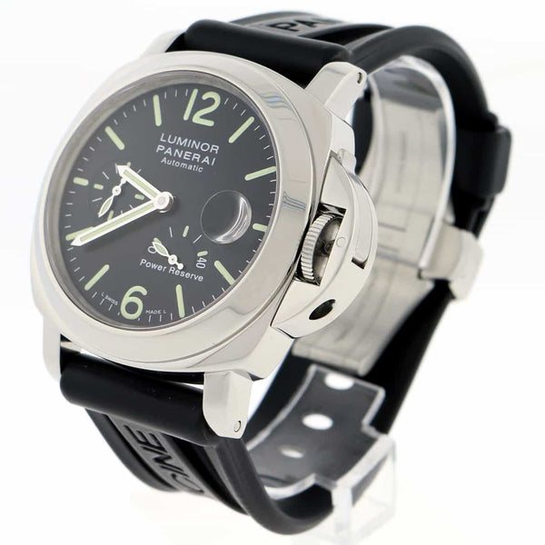 Panerai Luminor Power Reserve 44MM Automatic Stainless Steel Mens Watch PAM00090