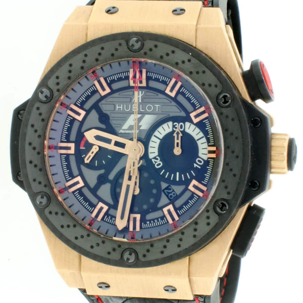 Hublot Big Bang F1 King Power Great Britain Limited Edition of 250 Watch 703.OM.6912.HR.FMC12