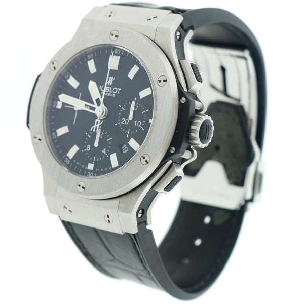 Hublot Big Bang Evolution Chronograph 44MM Black Dial Automatic Stainless Steel Mens Watch 301.SX.1170.RX