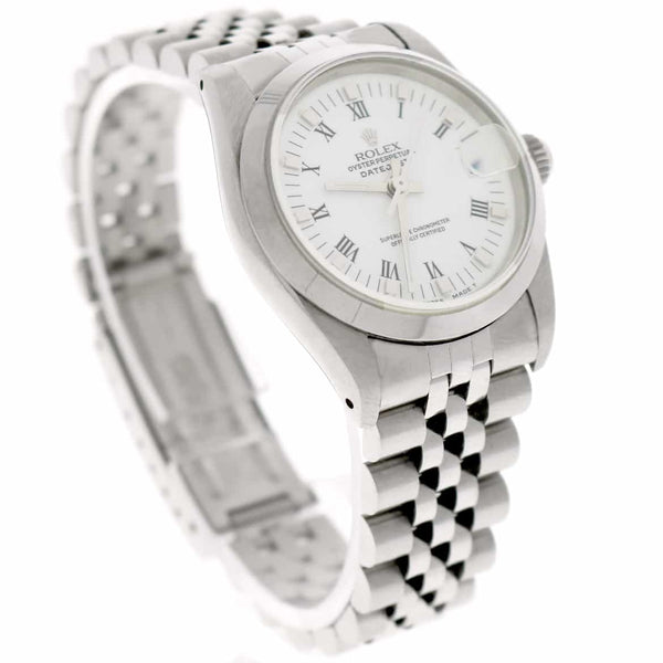 Rolex Datejust Midsize White Roman Dial 31MM Automatic Stainless Steel Jubilee Watch 68240
