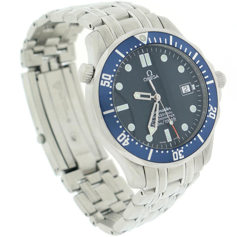 Omega Seamaster ''007'' Professional 41MM Blue Dial Stainless Steel Automatic Mens Watch 212.30.41.20.03.001