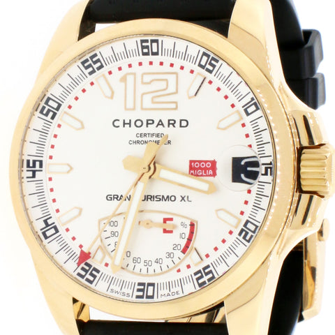 Chopard Mille Miglia Gran Turismo Power Control XL 44mm Automatic 18K Rose Gold Mens Watch 16-1272-5001