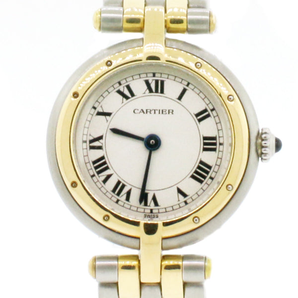 Cartier Panthere 2-Tone 18K Yellow Gold & Stainless Steel 23mm Ladies Watch 166920