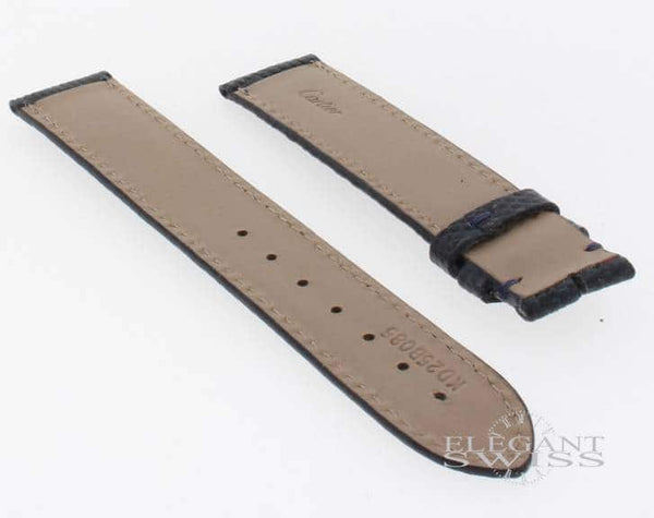 Cartier Blue Crocodile 20mm Strap KD22BF62, Sale Priced! 100% Authentic!