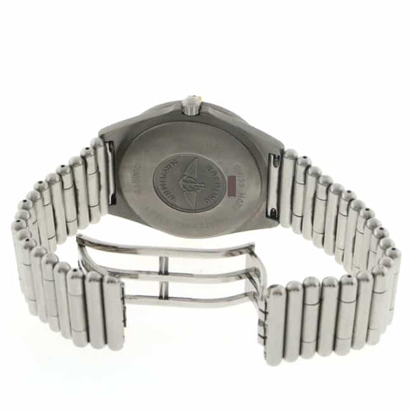 Breitling Aerospace Professional Titanium 40MM Stainless Steel Bullet Bracelet Mens Watch 80360