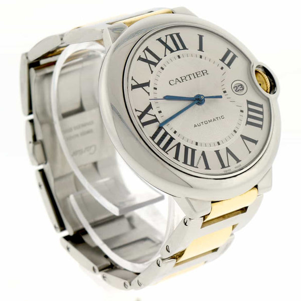 Cartier Ballon Bleu Large 2-Tone 18K Yellow Gold & Stainless Steel 42MM Automatic Watch W69009Z3