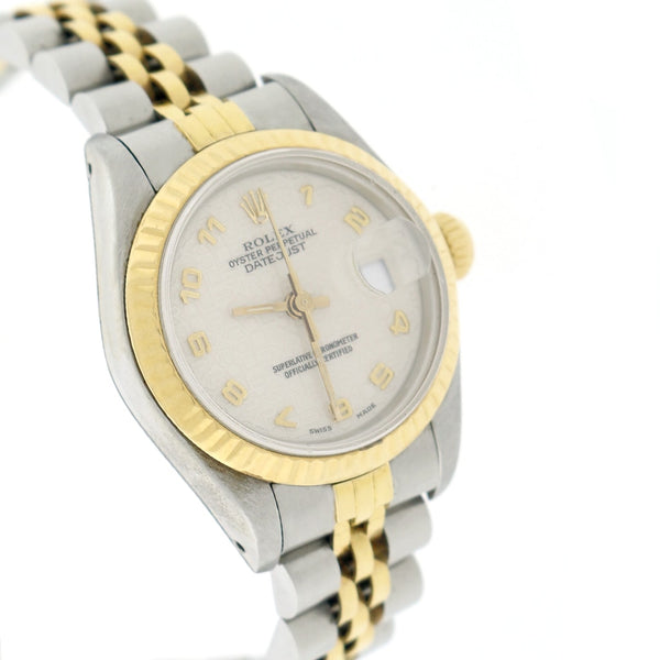Rolex Datejust Ladies 2-Tone Gold/Steel Original Jubilee Dial 26MM Automatic Watch 69173