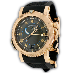 Breguet Marine Royale Alarm Rose Gold 45mm Automatic Mens Watch 5847BR/32/5ZV