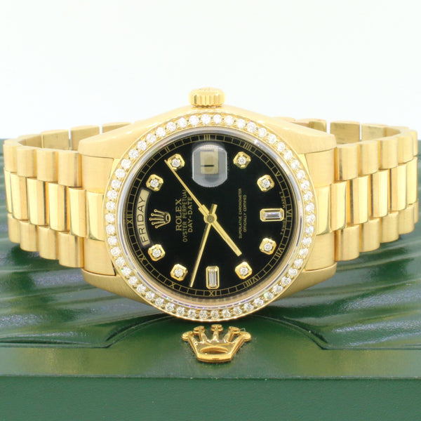 Rolex President Day-Date 36mm 18K Yellow Gold Automatic Watch
