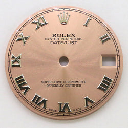 Rolex Datejust Steel 31mm Pink Dial with Roman Numerals
