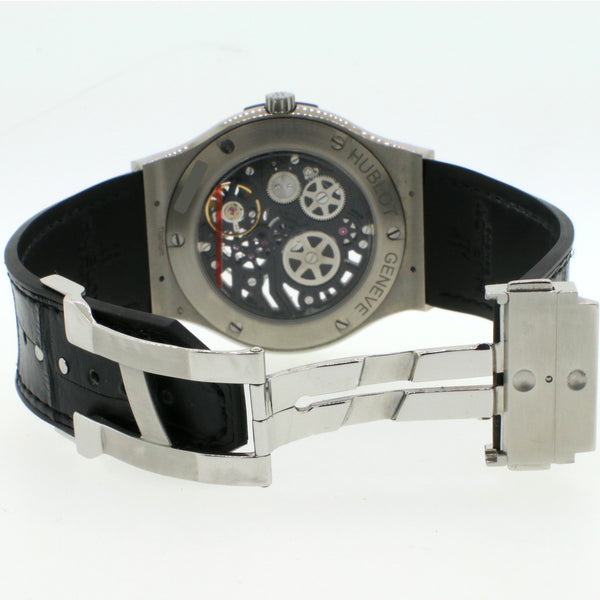 Hublot Classic Fusion 45MM SKELETON 515.NX.0170.LR Mens Watch Box Papers
