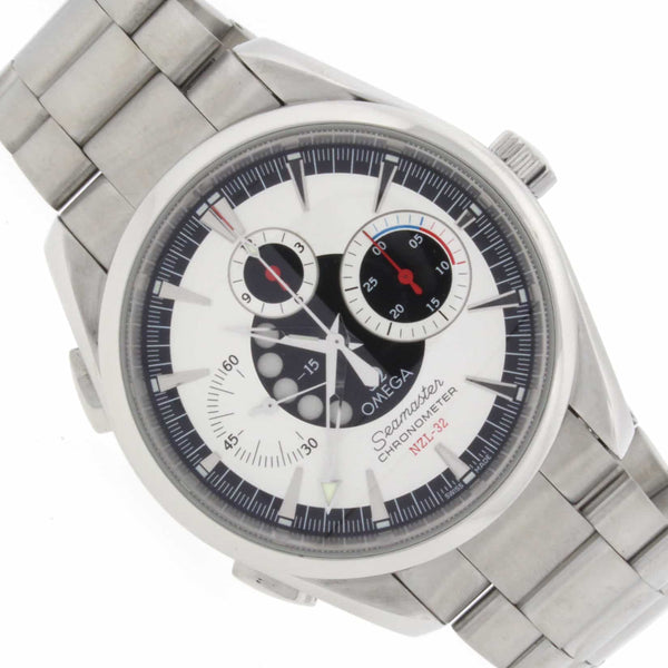 Omega Seamaster NZL-32 Chronograph Aqua Terra Stainless Steel Auto Mens Watch 25133000