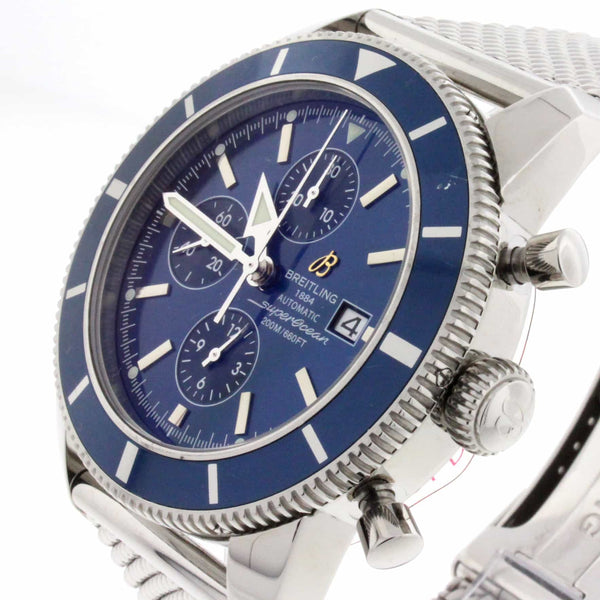 Breitling SuperOcean Heritage Chronograph 46MM Automatic Stainless Steel Mens Watch A13320