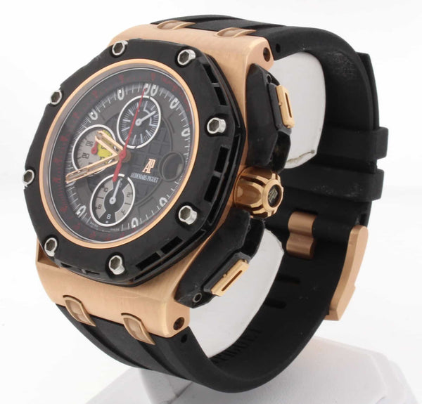 Audemars Piguet Grand Prix Royal Oak Offshore 18K Rose Gold Limited Edition Mens Watch 26290RO.OO.A001VE.01