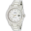 Rolex Datejust II 41mm 8CT Diamond Bezel/Bracelet/Dial Watch 116300 Box Papers