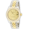 Rolex Datejust Midsize Floral Dial w/ Factory Diamond Bezel 31mm 178383 $16,250