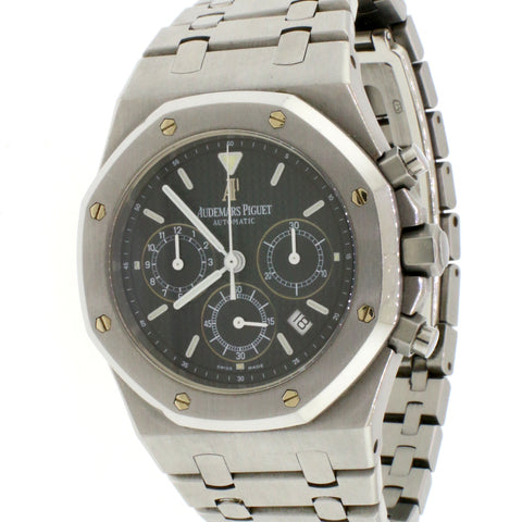Audemars Piguet Royal Oak Chronograph 39mm Stainless steel Blue Dial Watch