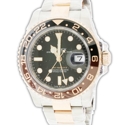 Unworn Rolex GMT-Master II Rootbeer 40MM Mens Oyster Watch 126711CHNR Box Papers