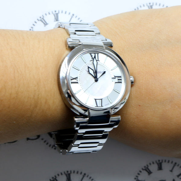 Chopard Imperiale Original Mother of Pearl Roman/Stick Dial 40MM Stainless Steel Watch 388531-3003