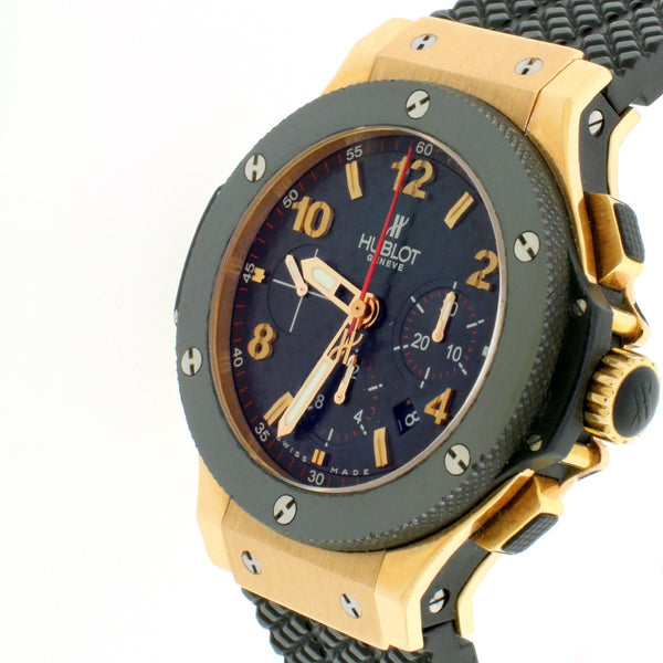 Hublot Big Bang Chronograph Rose Gold 44mm Watch 301.PX.130.RX